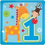 Thème anniversaire 1 an Jungle garçon pour l'anniversaire de votre enfant