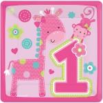 Thème anniversaire 1 an Jungle Fille pour l'anniversaire de votre enfant