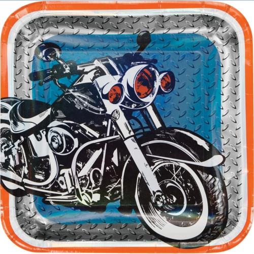 Maxi boîte à fête Moto Bikers