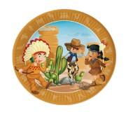 Maxi Boite à fête Indiens et Cowboys