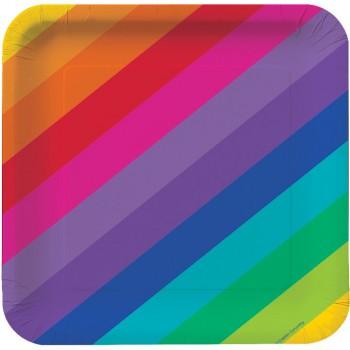 Grande boîte à fête Rainbow Fun