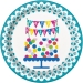 Boite invit� suppl�mentaire Happy Birthday. n�1