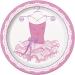 Grande  bo�te � f�te Pink Ballerine. n�1