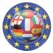 Boite invité supplémentaire Football Euro. n°1