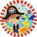 Grande bo�te � f�te Petit Pirate. n�1