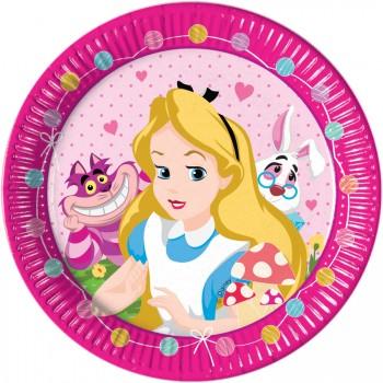 Grande boîte à fête Alice Merveille Rose
