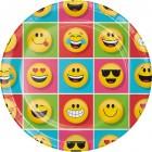 Maxi boïte à fête Emoji Smiley