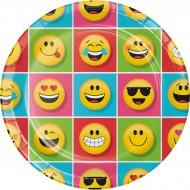 Boîte à fête Emoji Smiley