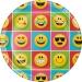 Maxi boïte à fête Emoji Smiley. n°1