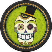 Squelette en fête