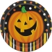 Bo�te invit� suppl�mentaire Smiling Pumpkin. n�1