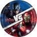 Maxi boîte à fête Captain America Civil War. n°1