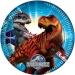 Grande boîte à fête Jurassic World Bleu. n°1