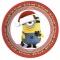 Boîte à fête Minions Christmas images:#0