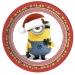 Grande boîte à fête Minions Christmas. n°1