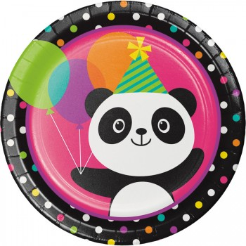 Grande boîte à fête Joyeux Panda