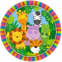 Thème anniversaire Amis de la Jungle pour l'anniversaire de votre enfant