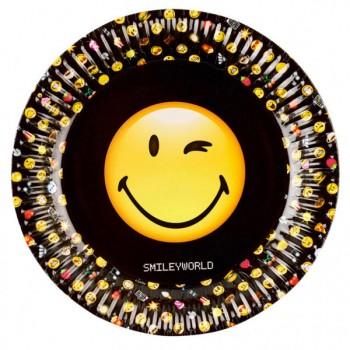 Boîte à fête Emoji Black