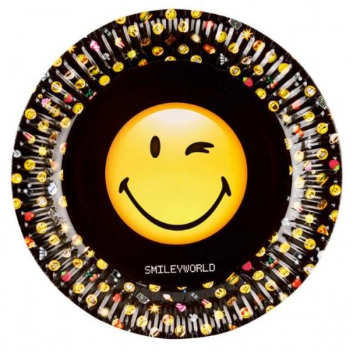 Maxi Boîte à fête Emoji Black