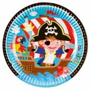 Boîte à fête Petit Pirate et ses amis