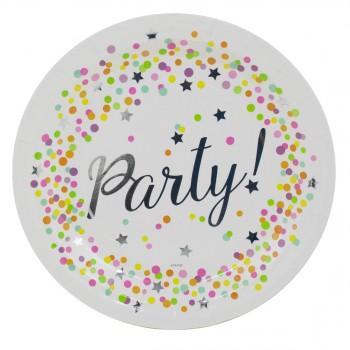 Grande boîte à fête Confettis Party