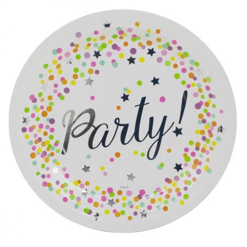 Boîte invité supplémentaire Confettis Party