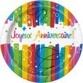Thème anniversaire Joyeux Anniversaire Rainbow pour l'anniversaire de votre enfant