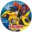 Contient : 1 x 8 Assiettes Transformers RID