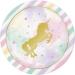 Maxi boîte à fête Licorne Rainbow Pastel. n°1