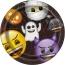 Contient : 1 x 8 Assiettes Emoji Halloween