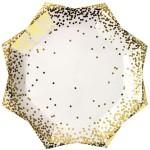 Thème anniversaire Gold Confetti pour l'anniversaire de votre enfant