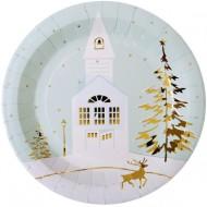 Boîte à fête Village de Noël