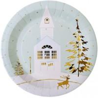 Thème anniversaire Village de Noël pour l'anniversaire de votre enfant