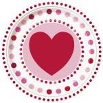 Thème anniversaire Coeur Farandole pour l'anniversaire de votre enfant