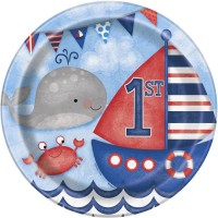 Thème anniversaire 1 An Marin pour l'anniversaire de votre enfant