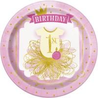 Thème anniversaire 1 An Princesse pour l'anniversaire de votre enfant