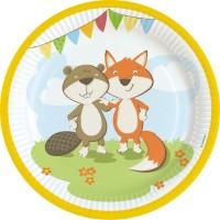 Thème anniversaire Renard et Castor pour l'anniversaire de votre enfant