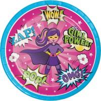 Thème anniversaire Super Birthday Girl pour l'anniversaire de votre enfant