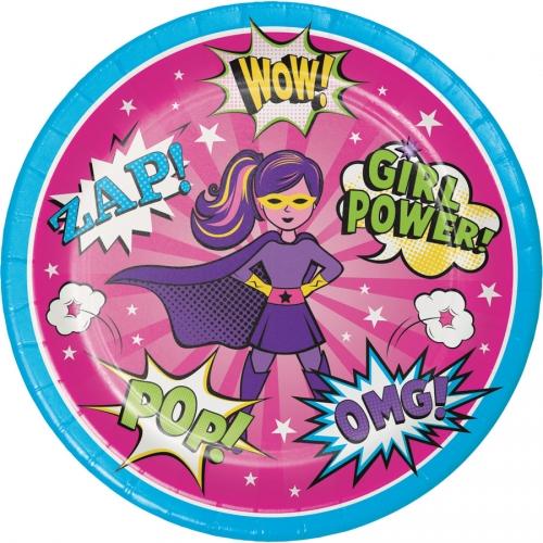 Maxi boîte à fête Super Birthday Girl