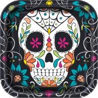 Thème anniversaire Calavera Skull pour l'anniversaire de votre enfant
