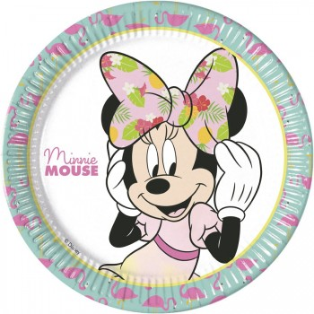 Boîte à fête Minnie Tropical