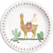 Boîte à fête Lama Birthday