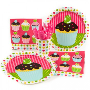 Maxi boîte à fête Cupcake Friandise