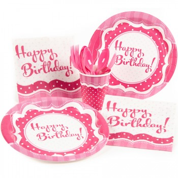 Boîte invité supplémentaire Happy Birthday Girly