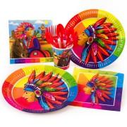 Boîte invité supplémentaire Indien Rainbow