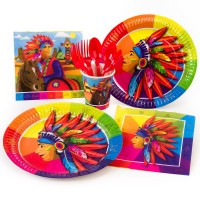 Thème anniversaire Indien Rainbow pour l'anniversaire de votre enfant