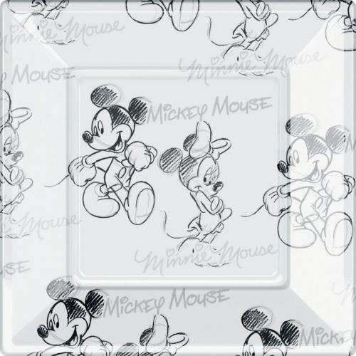 Boîte à fête Mickey et Minnie