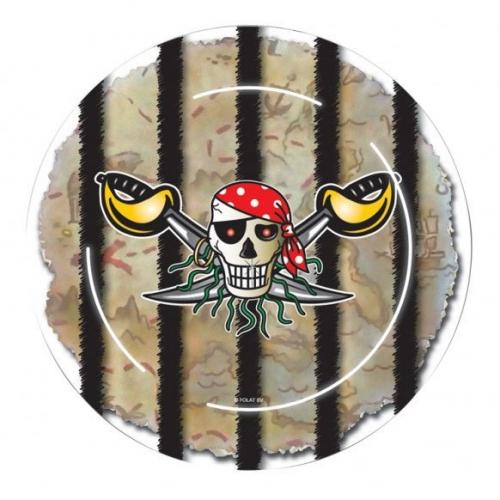 Maxi boîte à fête Red Pirate