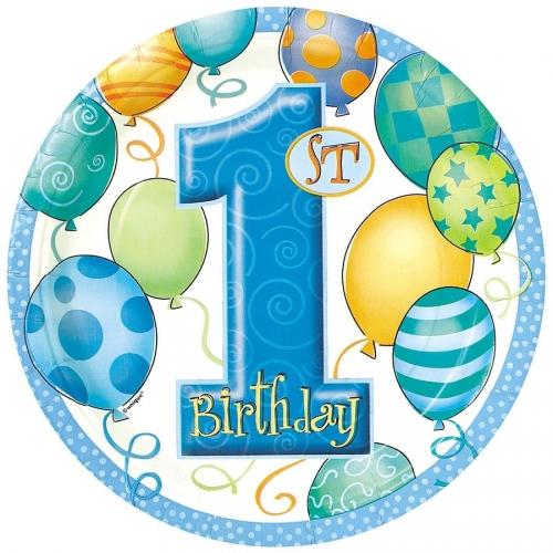 Boîte invité supplémentaire anniversaire 1 an garçon