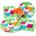 Maxi boîte à fête Cupcake